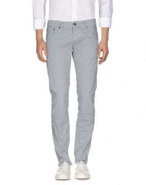 Джинсовые брюки MACCHIA J. Цвет: серый