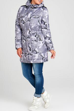 Куртка Modress. Цвет: принт, серый