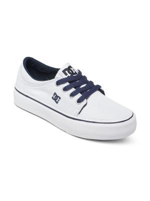 Кеды DC Shoes. Цвет: темно-синий, белый