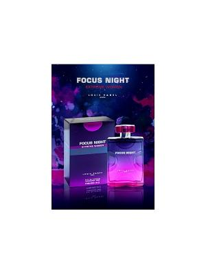 Парфюмированная вода FOCUS NIGHT EXTREME EDP WOMEN LOUIS VAREL. Цвет: прозрачный