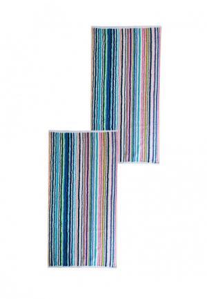 Комплект полотенец 2 шт. La Pastel. Цвет: разноцветный