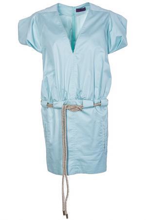 Платье Irfe. Цвет: голубой
