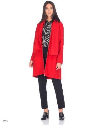 Пальто Isabel de Pedro. Цвет: красный