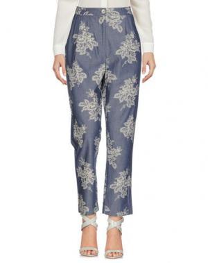 Повседневные брюки NICE THINGS by PALOMA S.. Цвет: грифельно-синий