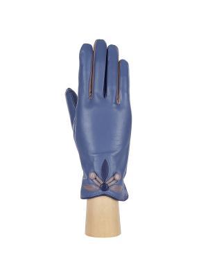 Перчатки Fabretti. Цвет: голубой