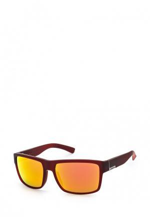 Очки солнцезащитные Quiksilver. Цвет: бордовый