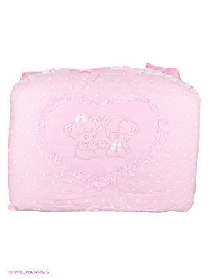 Постельное белье Soni kids. Цвет: розовый