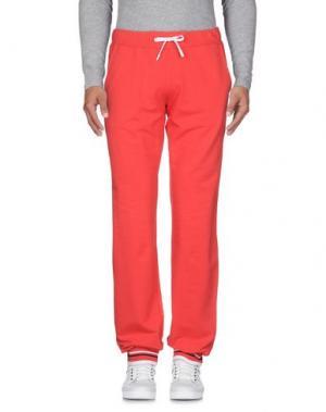 Повседневные брюки COOPERATIVA PESCATORI POSILLIPO. Цвет: красный