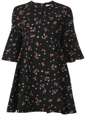 Floral print dress Carven. Цвет: чёрный