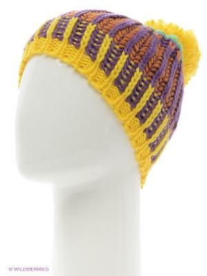 Шапка Icepeak. Цвет: фиолетовый, оранжевый, желтый, зеленый