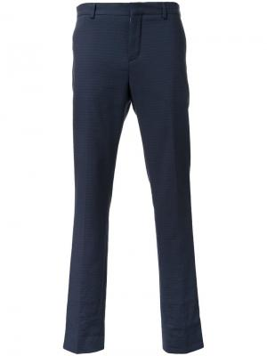Укороченные брюки Carven. Цвет: синий