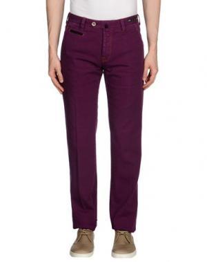 Джинсовые брюки PT01. Цвет: розовато-лиловый