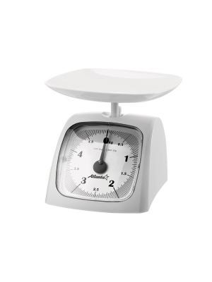 Кухонные весы Atlanta. Цвет: белый