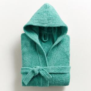 Халат детский с капюшоном 450 г/м², Качество Best La Redoute Interieurs. Цвет: зелено-синий,серо-синий,синий морской,темно-серый