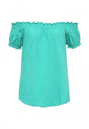 Блуза Baon. Цвет: зеленый