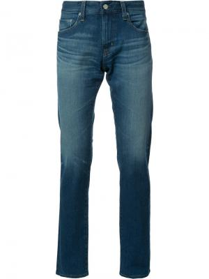 Джинсы кроя слим Ag Jeans. Цвет: синий