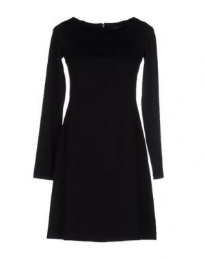 Короткое платье FISICO-CRISTINA FERRARI. Цвет: черный