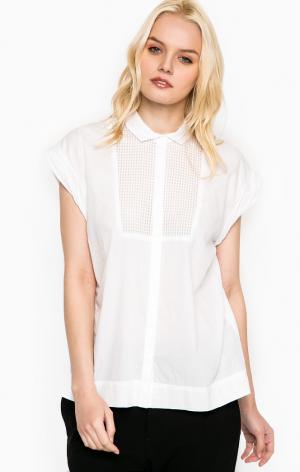 Рубашка DRYKORN. Цвет: белый