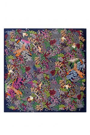 Шелковый платок 183349 Moltini. Цвет: разноцветный