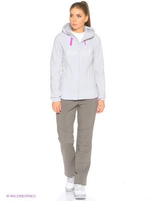 Куртка Bergans. Цвет: светло-серый