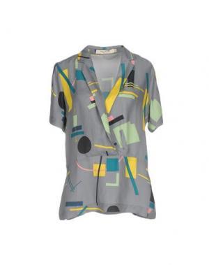 Блузка NICE THINGS by PALOMA S.. Цвет: свинцово-серый