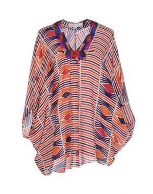 Блузка CHRISTOPHE SAUVAT. Цвет: оранжевый