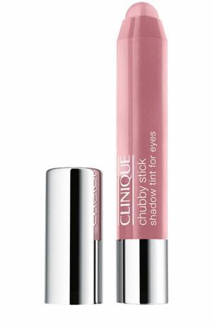 Тени для век Chubby Stick Shadow, оттенок Pink & Plenty Clinique. Цвет: бесцветный