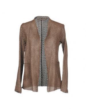 Пиджак SALVATORE SANTORO. Цвет: коричневый