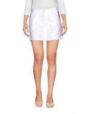 Повседневные шорты ODI ET AMO. Цвет: белый