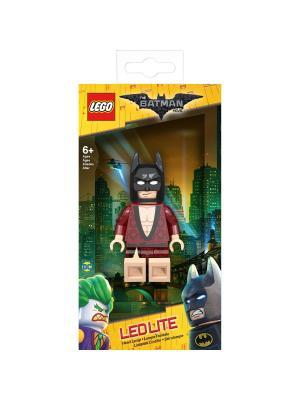 Налобный фонарик LEGO Batman Movie (Лего Фильм: Бэтмен)-Kimono Lego.. Цвет: черный, бордовый, темно-бежевый
