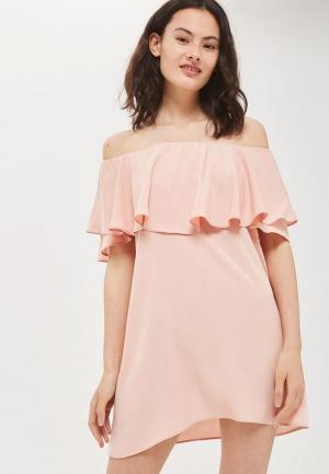 Платье Topshop. Цвет: розовый