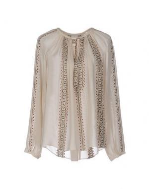 Блузка TALITHA. Цвет: бежевый