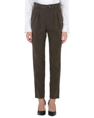 Повседневные брюки JOVONNA. Цвет: зеленый-милитари