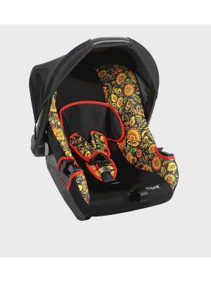 Детское автомобильное кресло ЭГИДА коллекция ART SIGER. Цвет: черный