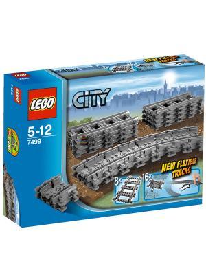 Игрушка Город Гибкие пути,номер модели 7499 LEGO. Цвет: серый