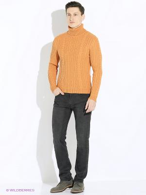 Свитер JB casual. Цвет: оранжевый
