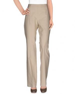 Повседневные брюки TOMASO. Цвет: бежевый