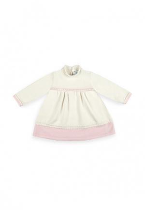 Платье Jacote. Цвет: бежевый