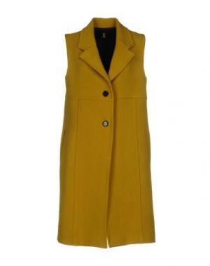 Легкое пальто ONE. Цвет: зеленый-милитари