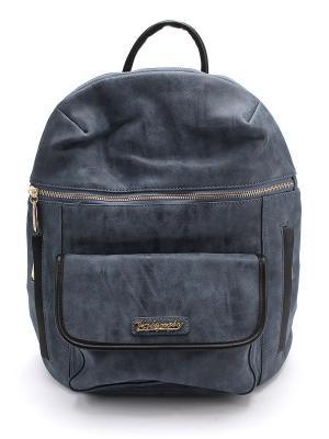 Рюкзак VALENSIY. Цвет: синий