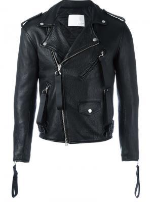 Biker jacket Matthew Miller. Цвет: чёрный