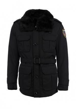 Куртка утепленная Blauer. Цвет: черный