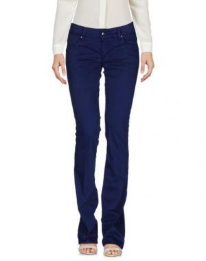 Повседневные брюки HEAVY PROJECT. Цвет: синий