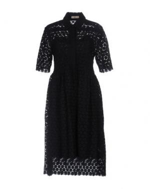 Платье до колена ORLA KIELY. Цвет: темно-синий