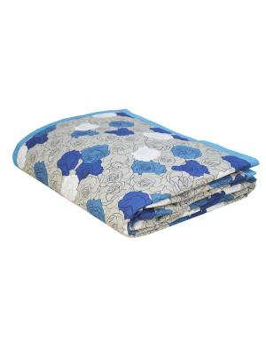 Покрывало Rosal Blu T&I. Цвет: синий