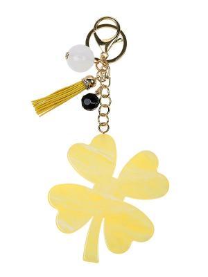 Брелок Olere. Цвет: желтый, белый, черный, золотистый
