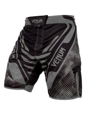 Шорты ММА Venum Technical Black/Grey. Цвет: черный,серый