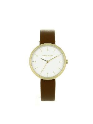 Часы KAREN MILLEN. Цвет: коричневый