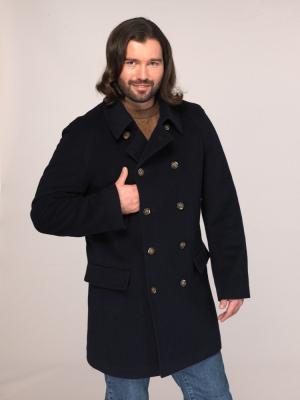 Пальто Paxton. Цвет: темно-синий