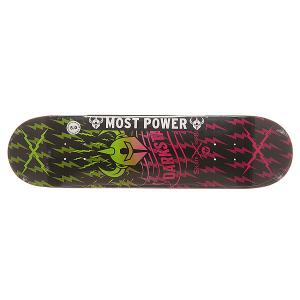Дека для скейтборда  S6 Axis Pink Fade 31.6 x 8 (20.3 см) Darkstar. Цвет: мультиколор